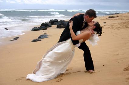 De 7 kæreste-faser og et kyssende par